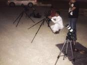 بالصور.. ظاهرة قمرية لن تتكرر إلا في عام 2062 ترصدها عدسات مصوري #الأحساء