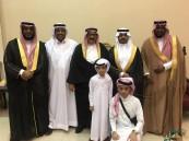 "أسرة النمشان تحتفل بزفاف ابنها ""بدر"""