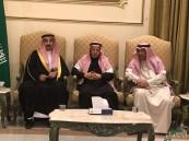 سمو الأمير عبدالعزيز بن جلوي يقدم واجب العزاء لأسرة الملحم