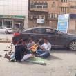 """بالفيديو … مستهترو """"افتراش"""" شارع النجاح في قبضة الأمن"""
