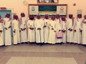 طلاب ثانوية الملك خالد بالهفوف ينظمون زيارة لمستشفى العفالق