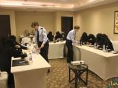 """بالصور.. 13 متدربة من """"حرس الحدود"""" يشاركن بدورة أمنية بالتعاون مع """"الشرطة الألمانية"""""""