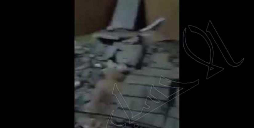 """شاهد… سقط """"السقف"""" على فراشه وأنقذته """"صلاة الفجر""""!!"""