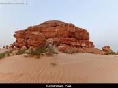 جبل الأربع بالأحساء – المصور / حسين علي المبارك