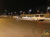 بالصور… شباب محاسن ارامكو  يسيطرون على أهم شوارعها