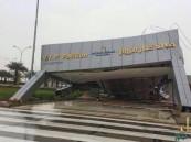 بالصور … مطار الأحساء يلحق بقافلة المتضررين