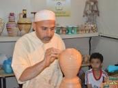 """بالصور … فتاة الأحساء توفر أكثر من 350 وظيفة مؤقته للأسر بمعرض """"كلنا منتجون 6"""""""