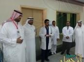 """بالصور.. فريق """"قيادي"""" يتفقد مستشفيات #الأحساء"""