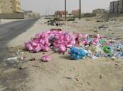 """بالصور.. حي """"الأمير سلطان"""" بالعيون يشكو الإهمال وغياب """"النظافة"""""""