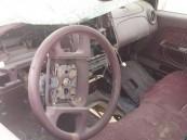 بالصور… في الأحساء سرقة سيارة بعد أن تعرضت لحادث… !!!