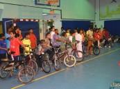 """بالصور.. نادي الصديق يقيم مهرجان """"الدراجات الهوائية"""""""