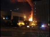 """حريق ضخم في مدينة الملك فهد الطبية و""""المدني"""" يسيطر"""