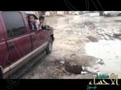 """بالفيديو … في #الأحساء كل """"المتطلبات"""" توفرت ولم يبقى سوى """"الضحية"""" !!"""
