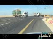"""بالفيديو … مواطن يخاطب وزارة النقل """"الكارثة وشيكة"""" أين أنتم؟"""