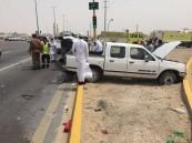بالصور.. حادث مأساوي يُصيب 3 في حالة حرجة