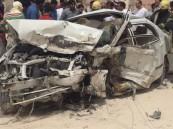بالصور.. وفاة وإصابة شخصين في حادث مأساوي على طريق القرى الشرقية