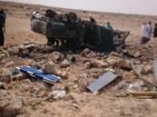 """بالصور… في #الأحساء فاجعة إنسانية بوفاة """"6"""" تفحمًا في حادث"""