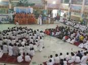 """بالصور.. لهذا السبب مدرسة في #الأحساء تطلق النشيد الوطني """"البنجلاديشي"""" !!"""