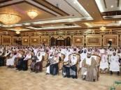 """بالصور.. متوسطة """"الإمام نافع"""" تحتفي بكوبكة من طلابها الخريجين"""