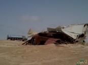 """بالصور.. شاهد الدمار الذي خلّفته """"العاصفة"""" على سكان إحدى هجر #الأحساء !!"""
