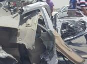بالصور.. بطّالية #الأحساء تشهد حادث مأساوي ووفاة مواطن وزوجته في حالة خطرة