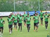 المنتخب السعودي يبدأ تدريباته لمواجهة أستراليا والإمارات