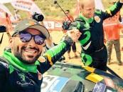 بالفيديو والصور.. يزيد الراجحي بطل المرحلة الأخيرة لأطول رالي عالمي