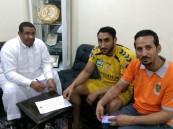 وصول المدرب الجديد لكرة اليد بنادي #الروضة والادارة تتعاقد مع 3 لاعبين