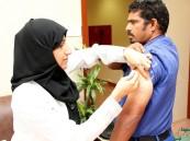 حملة التطعيم ضد الإنفلونزا الموسمية بمستشفى الملك عبدالعزيز