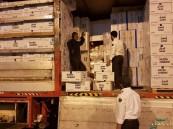 جمرك البطحاء يحبط محاولة تهريب أكثر من 40 ألف كيس من مادة التنباك