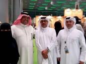 """بالصور.. وزير الثقافة القطري والسفير السعودي يحتفيان بـ بنت الأحساء """"أثير الخضير"""""""