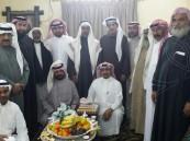 """أسرة الثنيان تحتفل بعقد قران ابنها """"إياد"""""""