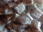بالصور.. جمرك البطحاء يُحبط محاولة تهريب أكثر من 25 ألف كيس من مادة التنباك