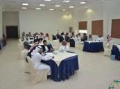 """بالصور… """"الدراسات الاجتماعية"""" بجامعة الملك فيصل تنفذ برنامج """"نادي الخدمة الاجتماعية"""""""