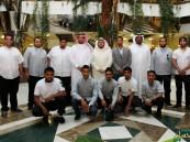 طلاب تقنية الأحساء يتعرفون على مركز معلومات جامعة الملك فيصل