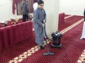"""""""الحسن بن علي"""" الابتدائية تبين فضل نظافة المساجد لطلابها"""