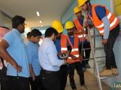 """في ختام """"تعليم وعمل"""".. 82 طالبا في أعمال صيانة بالمدارس"""