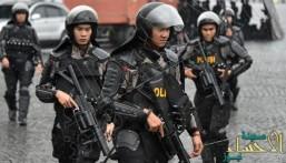 انفجار وتبادل إطلاق نار في مبنى حكومي بإندونيسيا