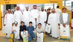 ابتدائية الأمير سعود بن جلوي في زيارة لمعرض أسبوع المرور الخليجي الـ 17