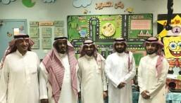 """ابتدائية """"حسان بن ثابت"""" بالجشة تستقبل وفد """"وزارة التعليم"""""""