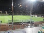 الأمطار تجبر الفيصلي و العدالة على تعليق المباراة عند الدقيقة 27