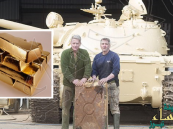 """اشترى دبابة عراقية """"متهالكة"""".. فعثر على سبائك ذهب نٌهبت من الكويت بـ 2.4 مليون دولار"""