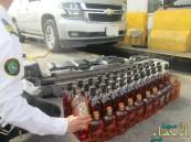جمرك الملك فهد»: إحباط تهريب 97 زجاجة خمر و836 علبة بيرة
