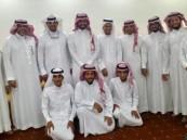 """أسرة الدسم والوحيمد يحتفلان بعقد قران """"بندر"""""""
