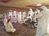فعاليات شعبية لأبناء مركز التأهيل الشامل مع طلاب الغويبة الثانوية