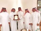 """بالصور.. إدارة جائزة الأمير خالد الفرحان تُكرم """"الجبر"""" لدعمه أنشطتها"""