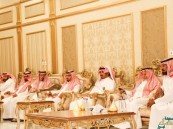 """بالصور.. قبيلة """"الحراجين"""" تحتفي بزيارة الشيخ """"محمد بن فهيد"""""""