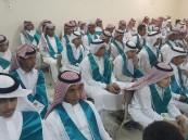 """تحت شعار """"شكراً سلمان"""".. تخريج 125 طالباً في متوسطة """"ابن نصير"""""""