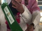 """مبادرة """"أصحاب الفضل"""" تنطلق من متوسطة """"الملك عبد العزيز"""" والمعلم """"الهتلان"""" يحصد وسام المبادرة في دورتها الأولى"""
