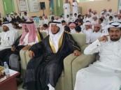 """مدرستا """"أسيد بن حضير"""" و """"عبدالله بن الزبير"""" تحتفي بتخريج طلابها"""